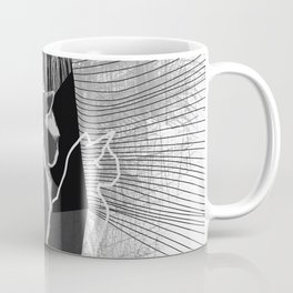 Quantum Cats BnW Coffee Mug