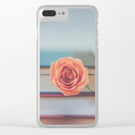Summer Reading Clear iPhone Case