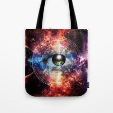 Quantum space Tote Bag