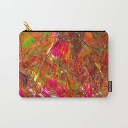 Tropical Sunset Ammolite Carry-All Pouch