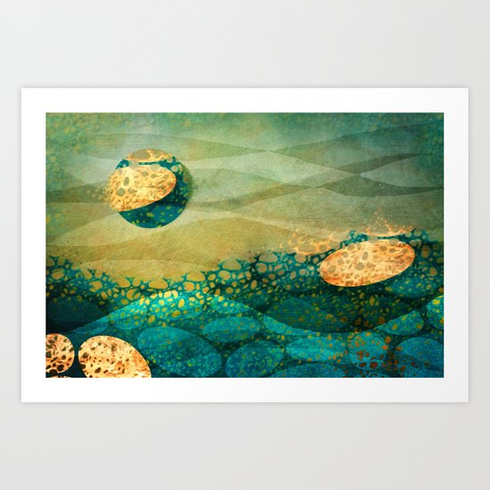 Take me to Another World... Art Print