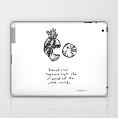 for the heart-hungry Laptop & iPad Skin