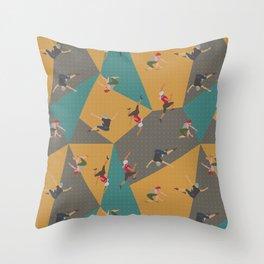 SoCAler Series #2 Boulders Throw Pillow