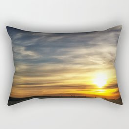 It's a still life water color, Of a now late afternoon... Rectangular Pillow