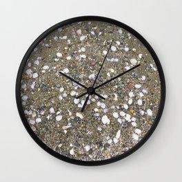 Speckled Shells Wall Clock