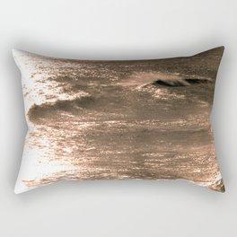 Broadstairs Waves Rectangular Pillow