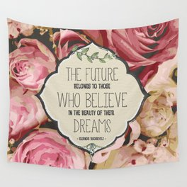The Future of Peonies Wall Tapestry