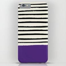 Purple Grape x Stripes iPhone 6 Plus Slim Case