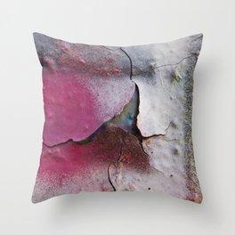 Pink Rumble Throw Pillow