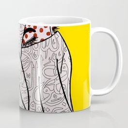 Roy Lichtenstein Meets the Arabic Woman Coffee Mug