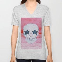 star skull Unisex V-Neck