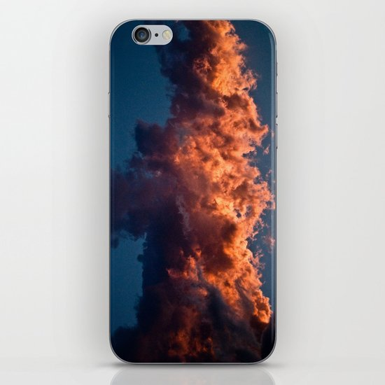 Clouds On Fire iPhone & iPod Skin