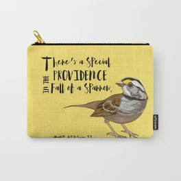 Fall Of A Sparrow Carry-All Pouch