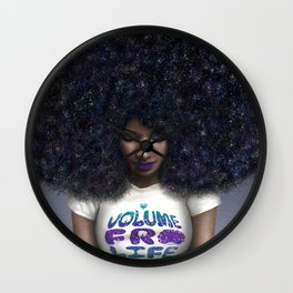 Volume Fro Life Wall Clock