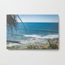 Sunny Moffat Beach Metal Print