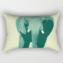 Elephant Tusk Rectangular Pillow