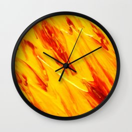 Lapeda Textile Art - 20 Wall Clock