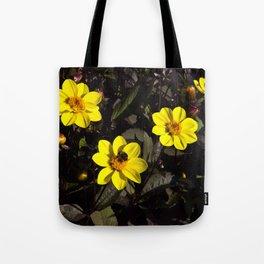 Bee in a Flower Tote Bag