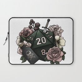 Rogue Class D20 - Tabletop Gaming Dice Laptop Sleeve