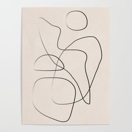Abstract Line I Poster