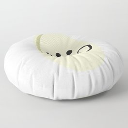 Pistachio with Mustachio Floor Pillow