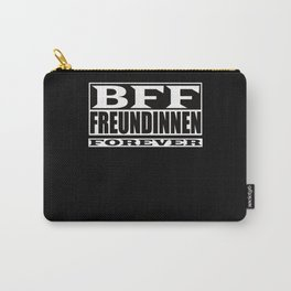 BFF Girlfriend Forever Saying Gift Carry-All Pouch