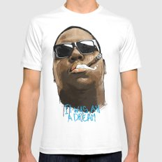 Biggie X-LARGE Mens Fitted Tee White
