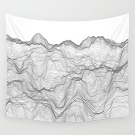 Soft Peaks Wall Tapestry