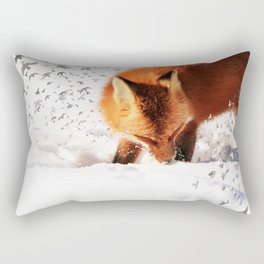 Freedom takes Flight Rectangular Pillow