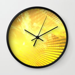 Real light Wall Clock