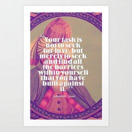 Inspirational Quotes - Motivational - 143 Art Print