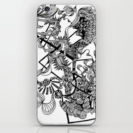 Floral Abstraction iPhone Skin