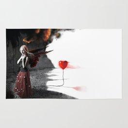 Burning Love Rug