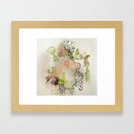 Hidden Trajectory Framed Art Print