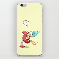 pony iPhone & iPod Skins featuring Pony Ride by Freeminds