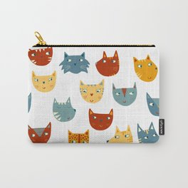 Many Cats Carry-All Pouch