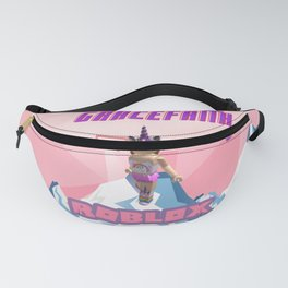Pink Roblox Girl Fanny Pack