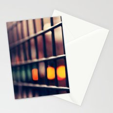 Circles and squares Stationery Cards