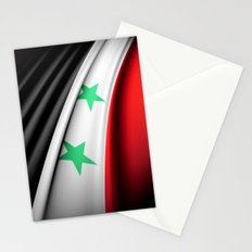 Flag of Syria Stationery Cards