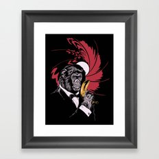 Weapon of Choice Framed Art Print