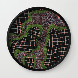 Cellular Network Wall Clock