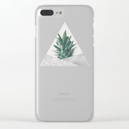 Pineapple Dip VIII Clear iPhone Case