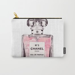 PERFUME No.5 PINK Carry-All Pouch