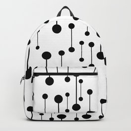 Unity - Minimalistic Black And White Pattern Backpack