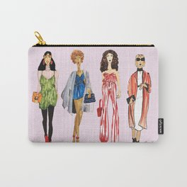 Fashion Drawing Series Pouch, Pinales Illustrated Carry-All Pouch