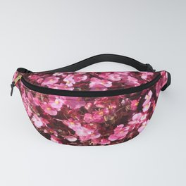 Pink Flower Power Fanny Pack