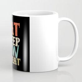 Eat Sleep Row Repeat Rowing Club Rowers Coffee Mug