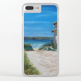 One Mile Calling Clear iPhone Case