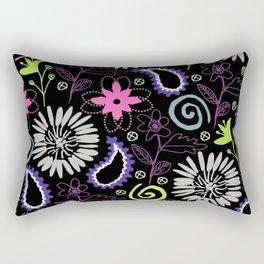 PAISLEY FLORAL Rectangular Pillow