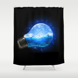 Small Paradise Shower Curtain